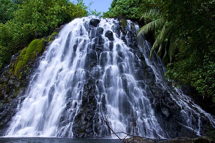 Waterfalls, Micronesia