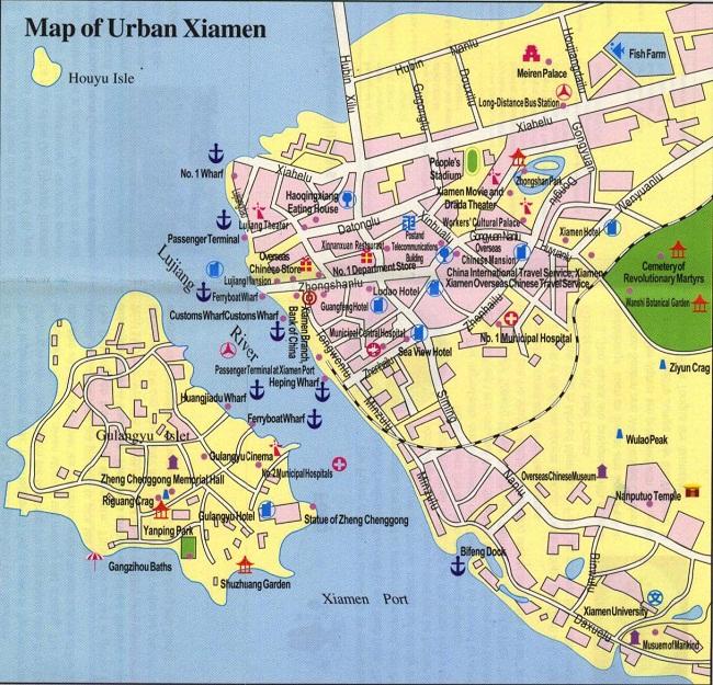 Xiamen Map