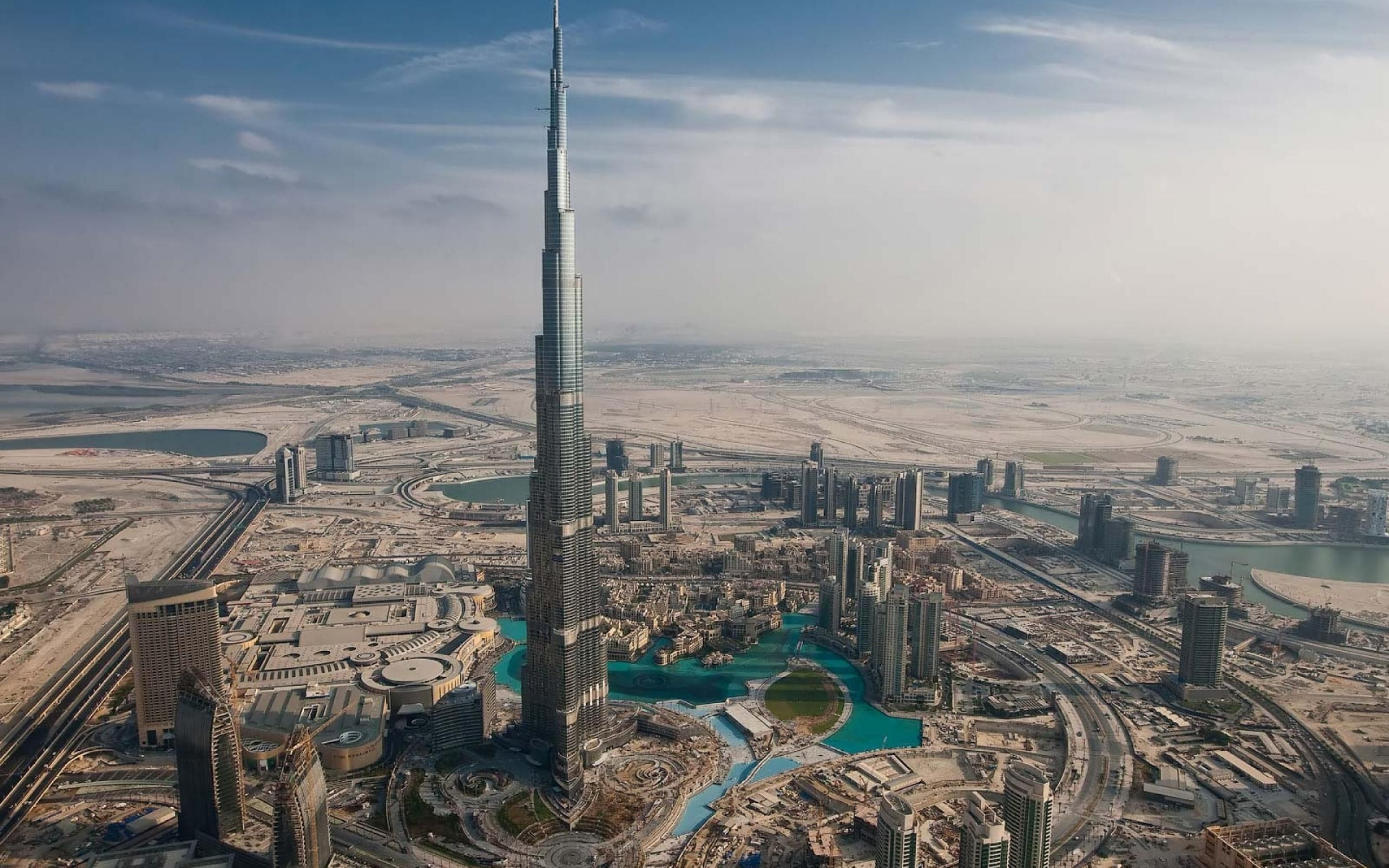 burj khalifa dubai the tallest building in the city