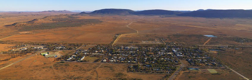 great town in Central Australia