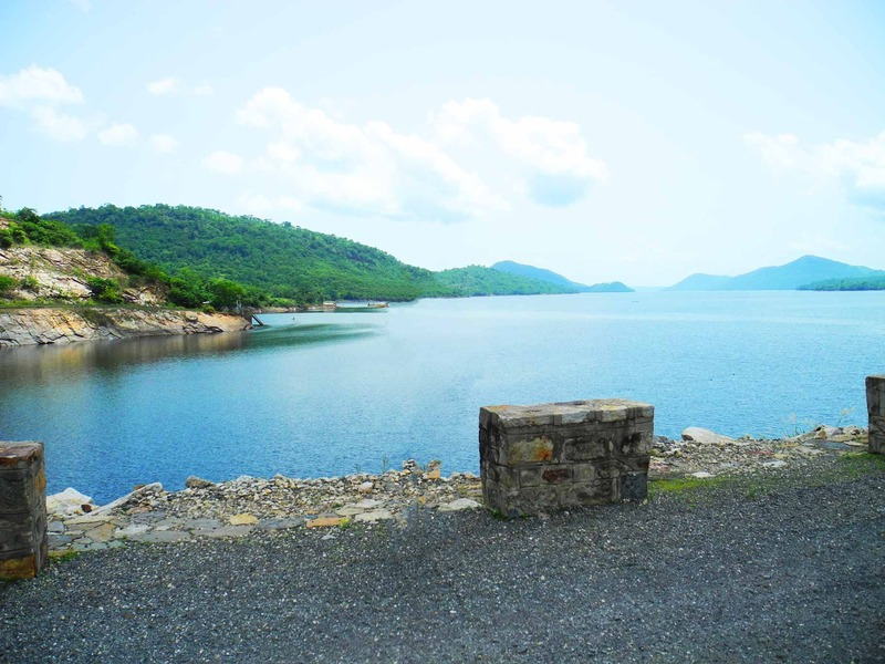 lake Volta mouth, Ghana