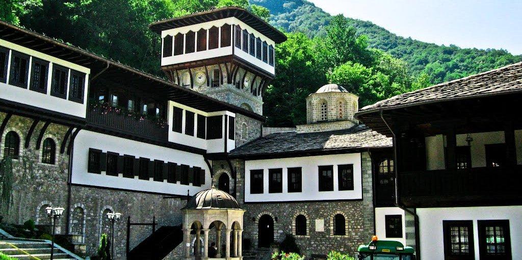 monastery of St. Bigorski, Macedonia