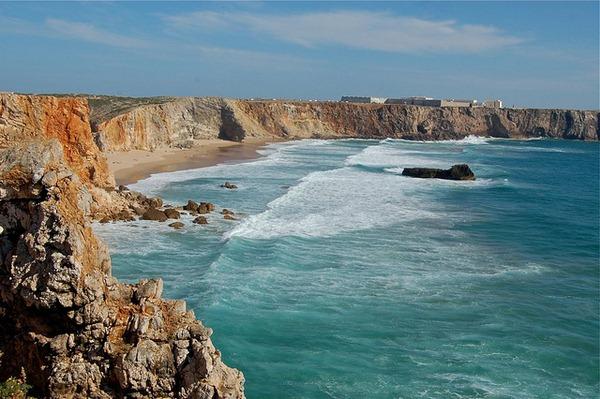 rugged coastline, Portugal