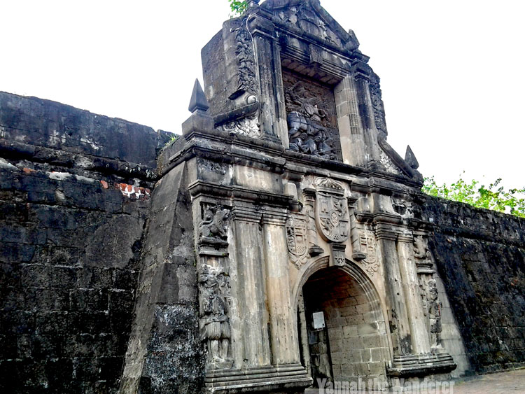 ruins of Fort Santiago, Philippines