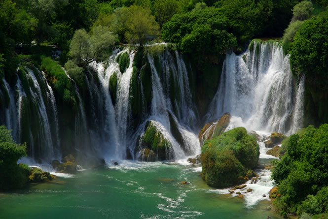 waterfalls, Bosnia and Herzegovina