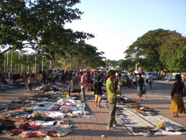 Dili market 2009