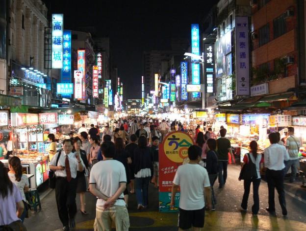 Lioho Night Market in Taiwan