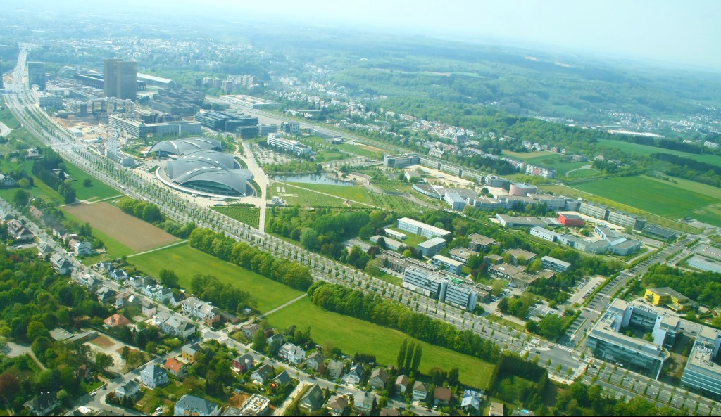 University of Luxembourg, Kirchberg Campus