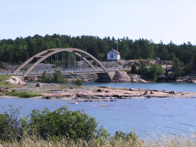 Bomarsund Bridge Sund Finland
