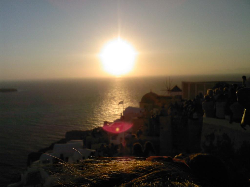 Oia Sunset Santorini, Greece
