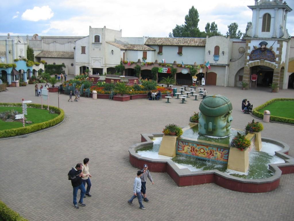 Bellewaerde Mexicaans plein