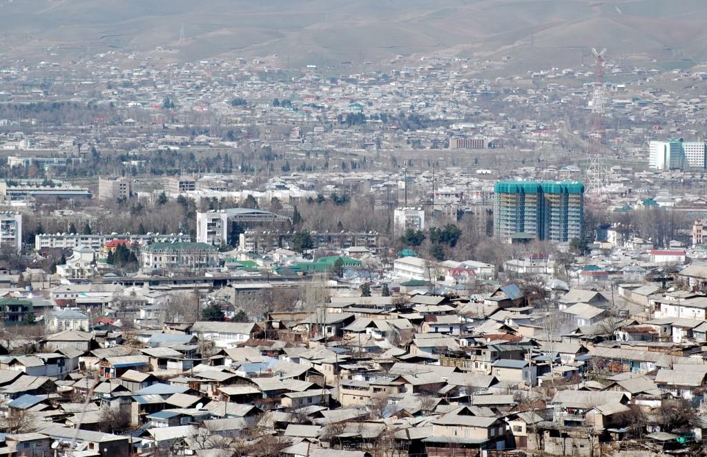 Dushanbe panorama