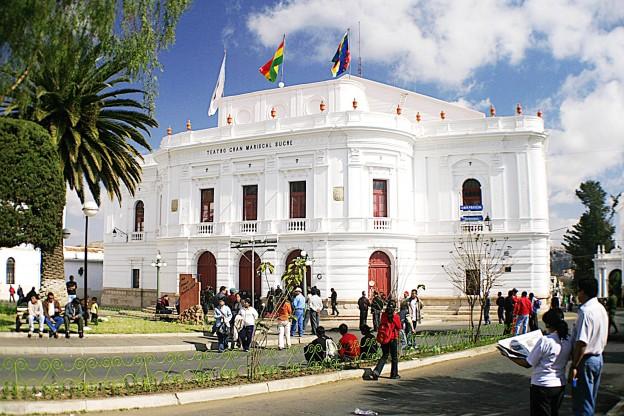 Teatro Gran Mariscal Sucre Sucre   Bolivia