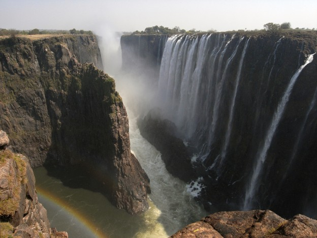 Victoria Falls from ZambiaAugust 2009