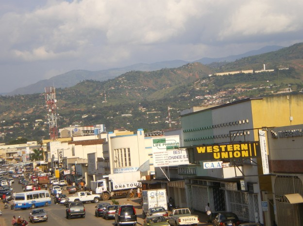 View of bujumbura