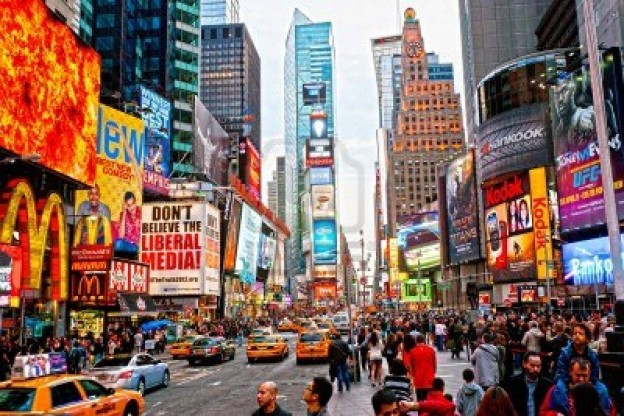 13095699 new york city march 25 times square featured with broadway theaters and animated led signs is a symb