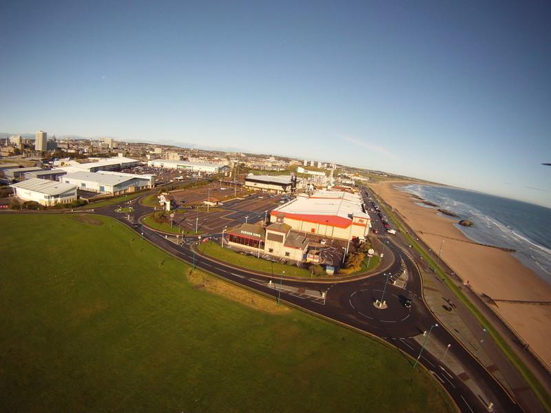 Aberdeen Beach and Queens Links