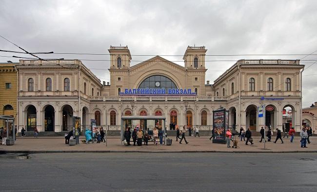 Baltiysky Station