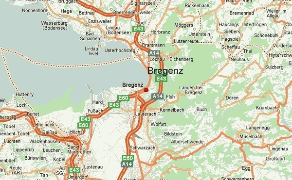 Bregenz Map