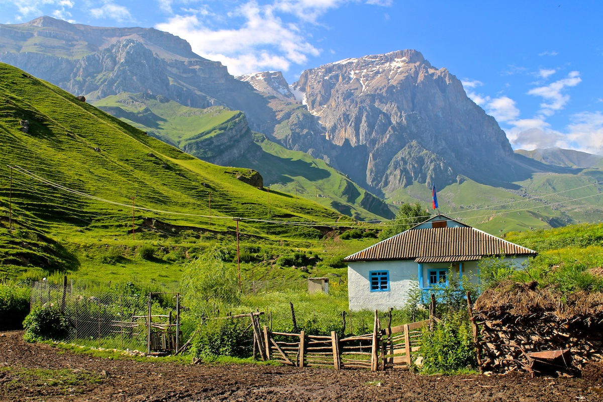 Caucasus Mountain, Azerbaijan