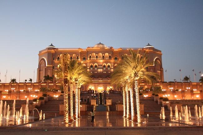 Emirates Palace at Night