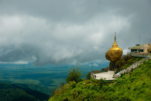 Golden Rock Pagoda, Burma