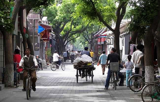 Hutongs, China