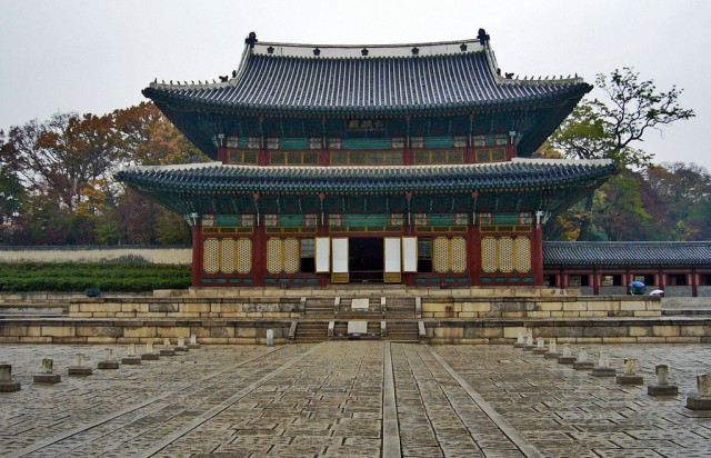 Joseon palace, South Korea