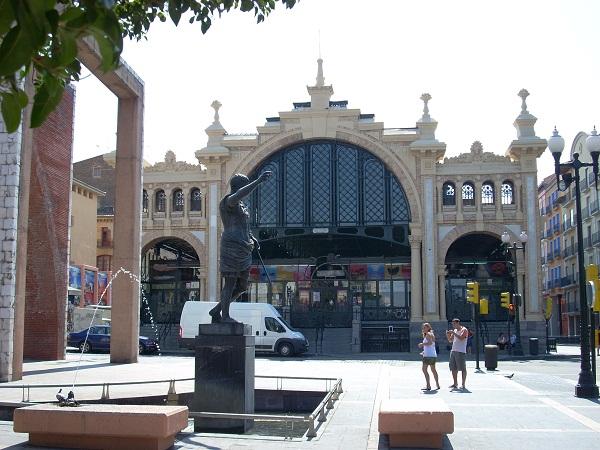 Lanuza Market Zaragoza