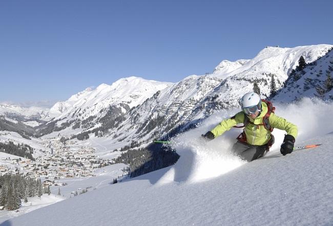Lech Am Arlberg Skiing