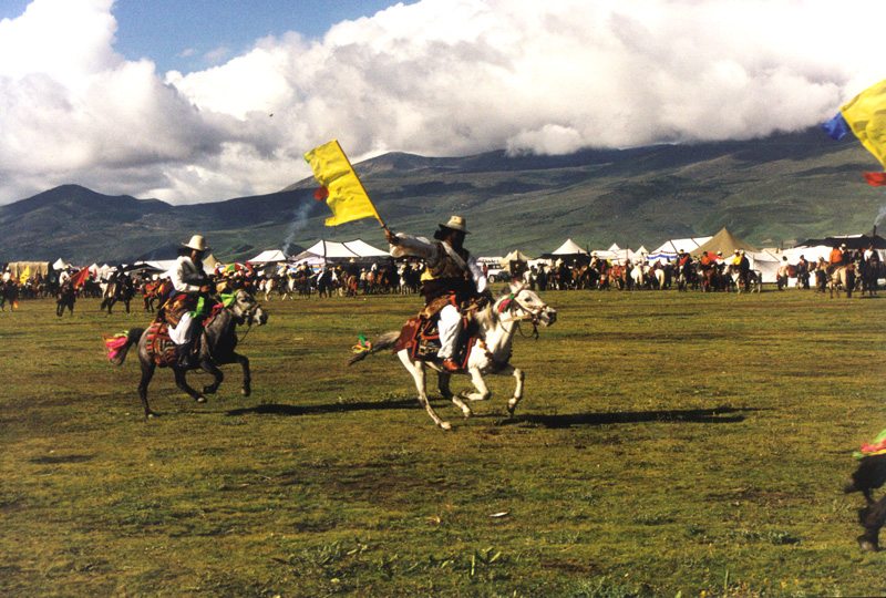 Litang horse racing, China