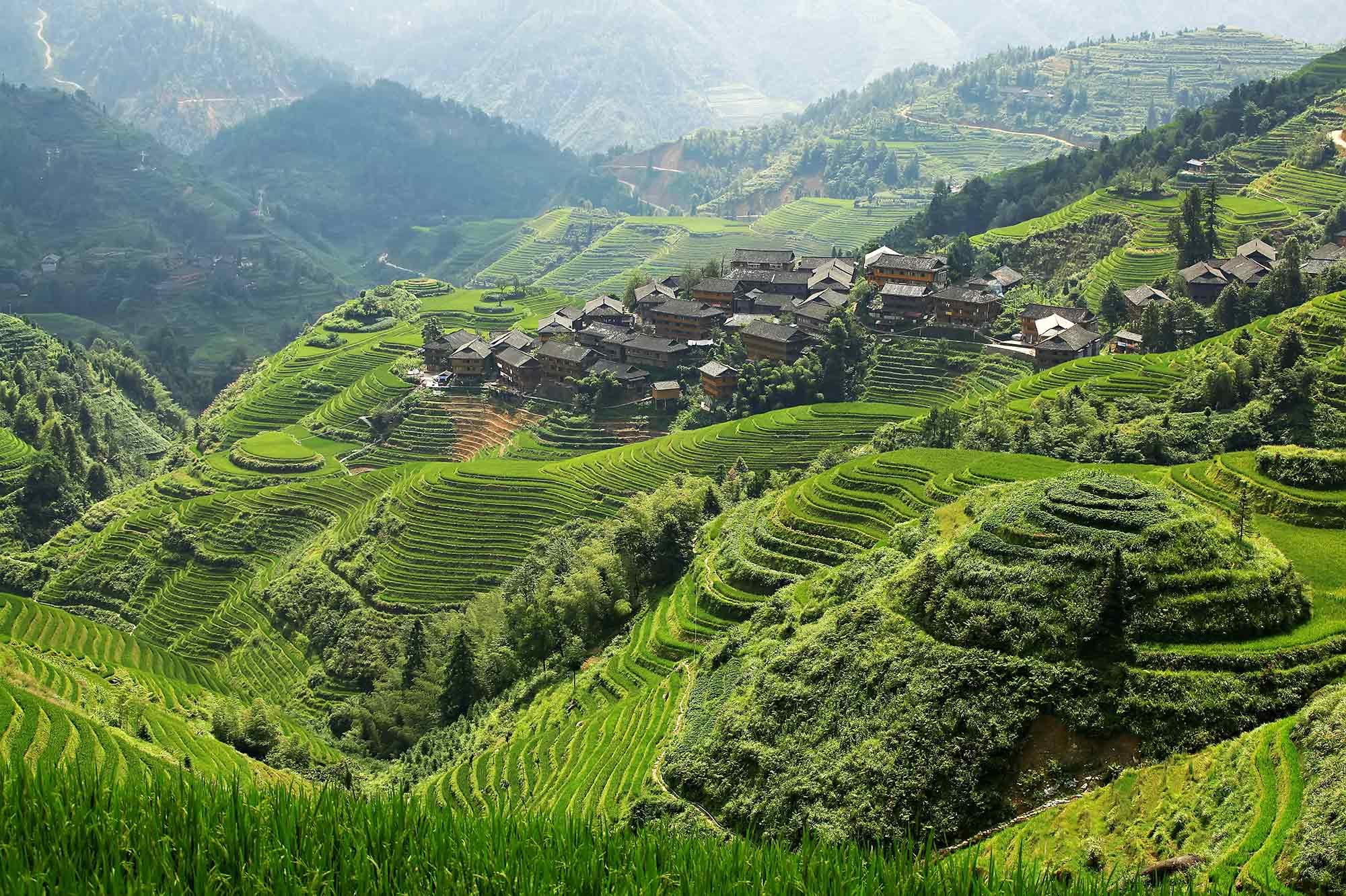 Longji Village, China
