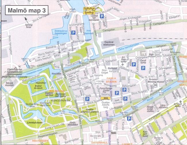 Malmo Map