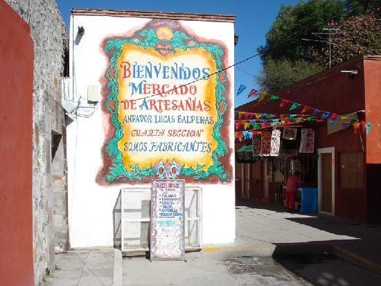 Mercado de Artesanias San Miguel de Allende