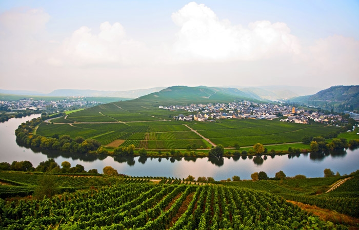 Moselle Valley, Luxembourg