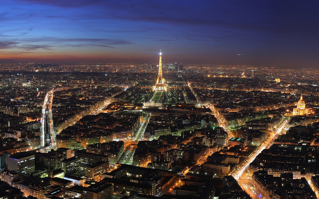 Paris Skyline in France