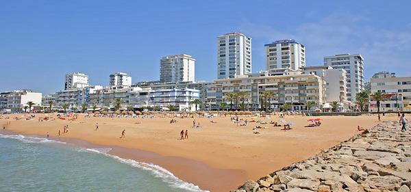 Praia de Quarteira, Vilamoura