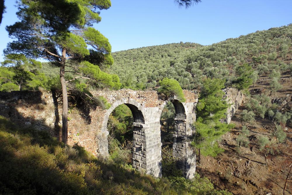 Roman Mains levos island