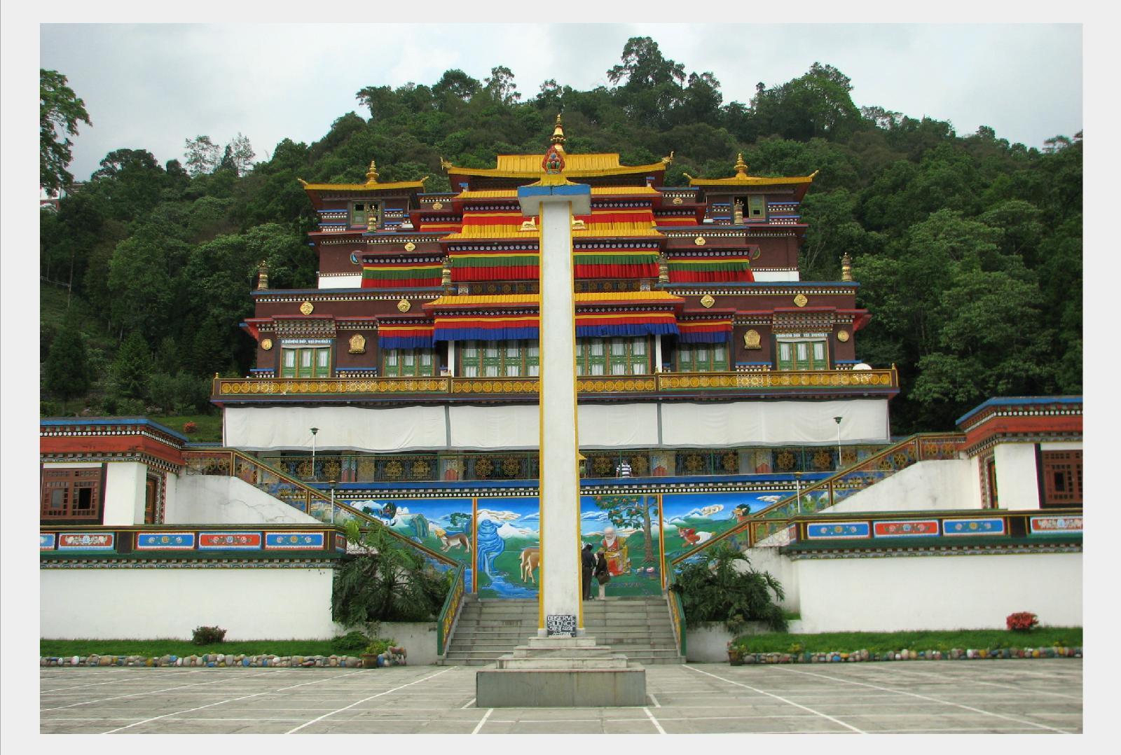 Temple Gangtok, Bhutan