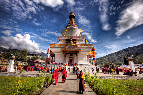 Temple Thimphu, Bhutan