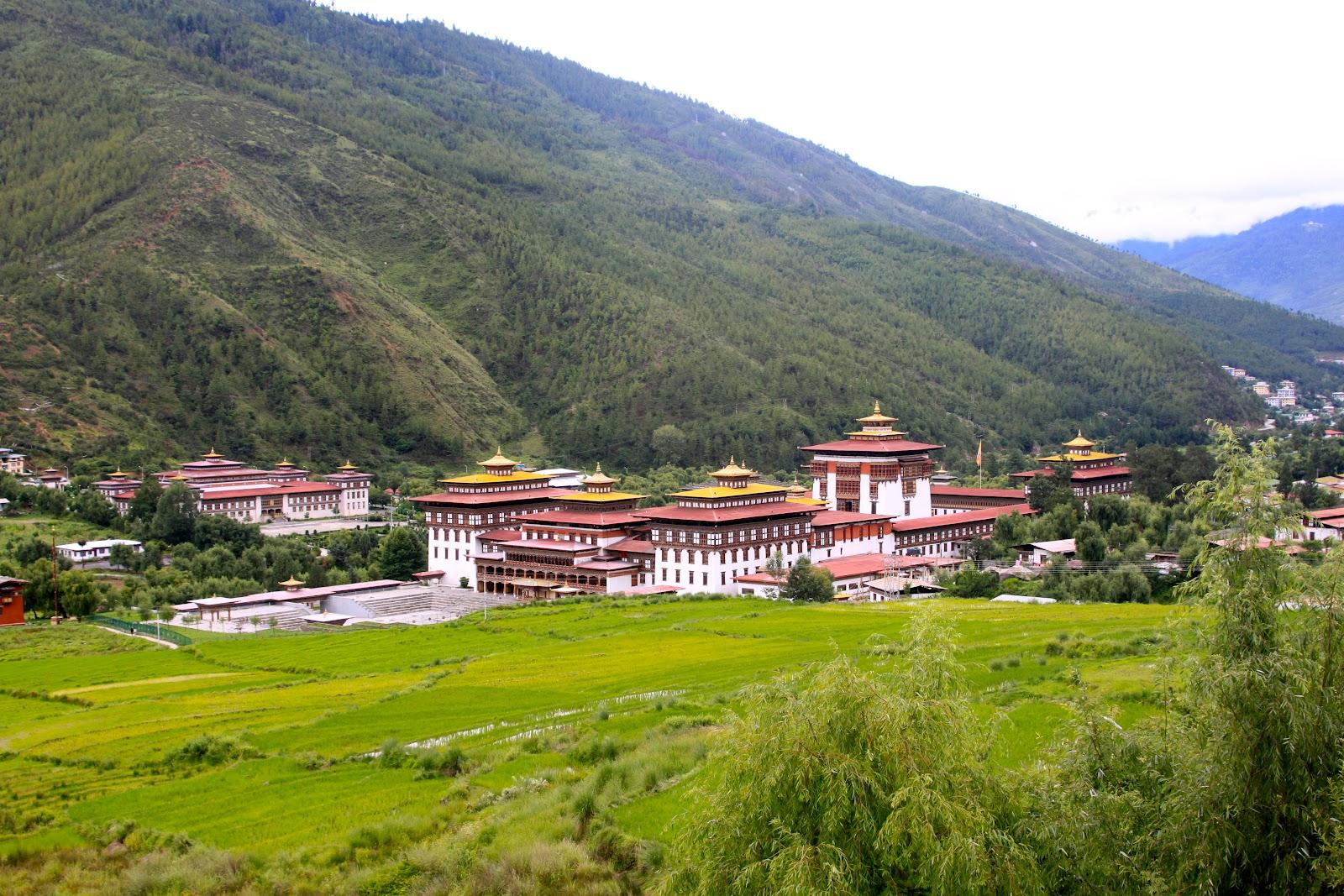 The Trashi Chhoe Dzong, Bhutan