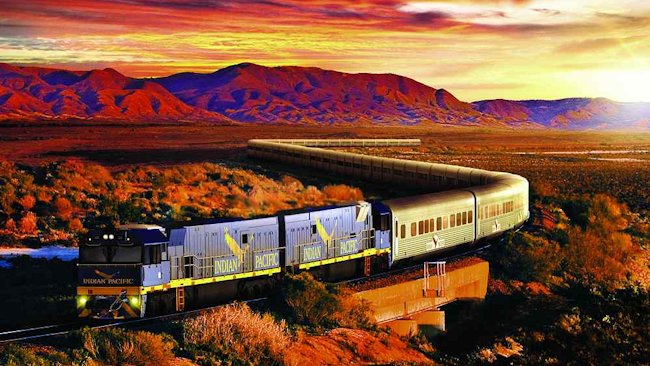 Train Journeys Australia