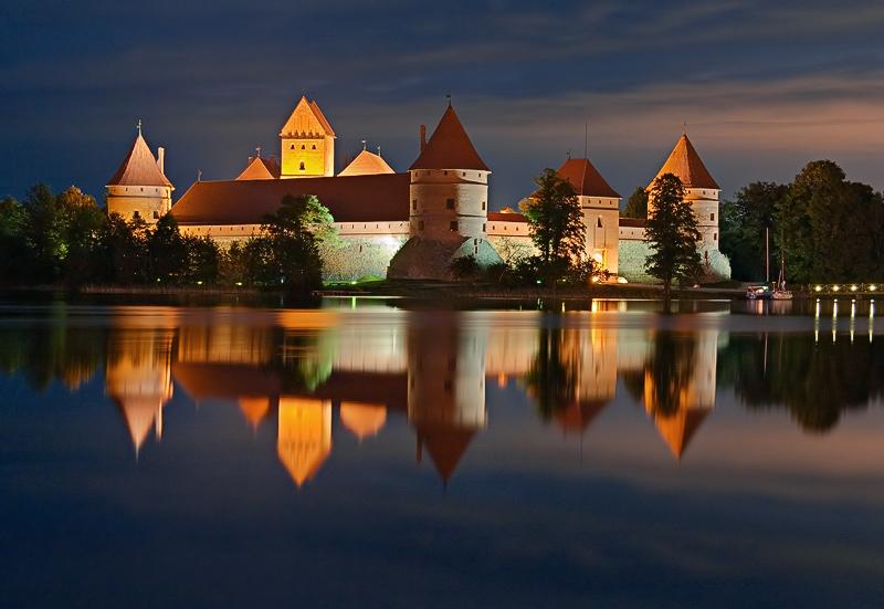 Trakai town, Lithuania
