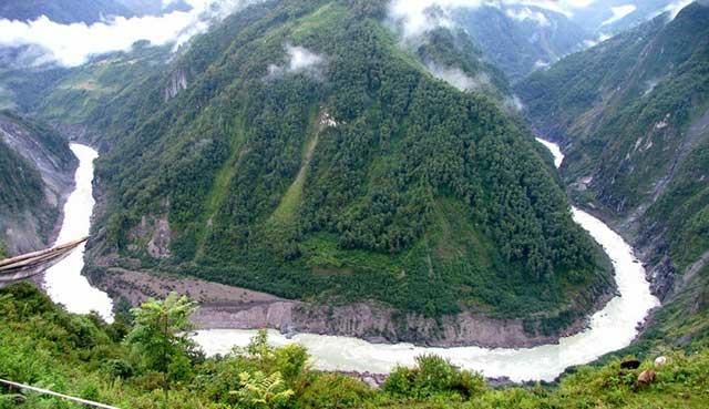 Yarlung River, China
