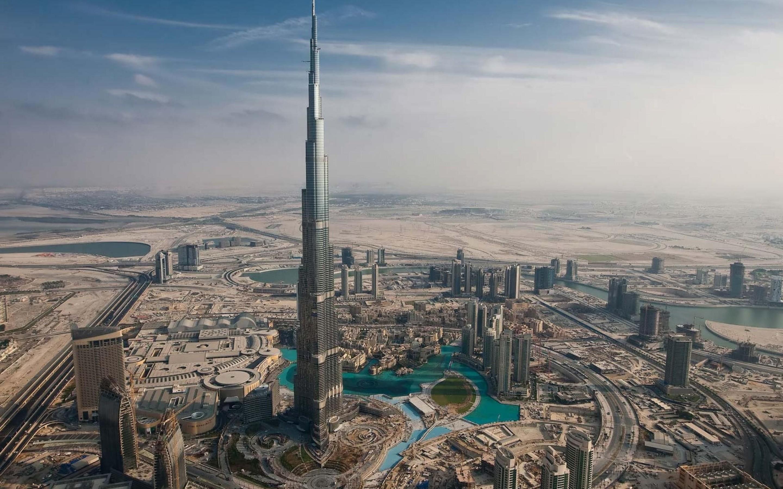 burj khalifa dubai the tallest building in the city