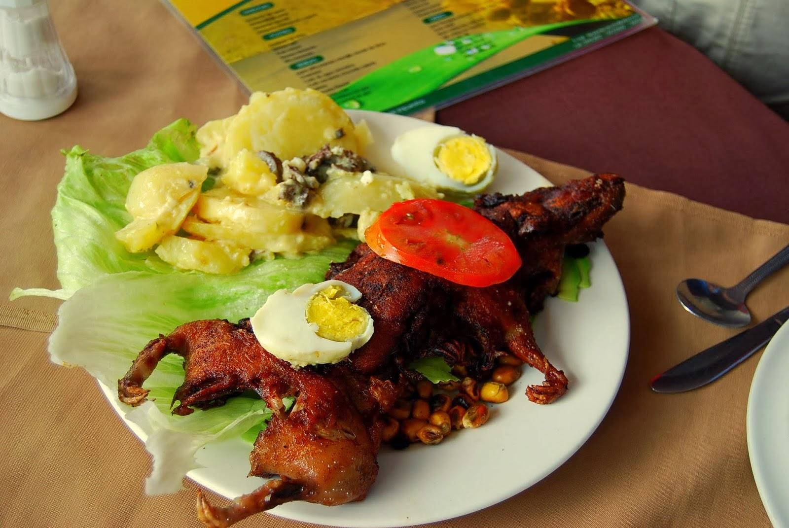 food in Ecuador
