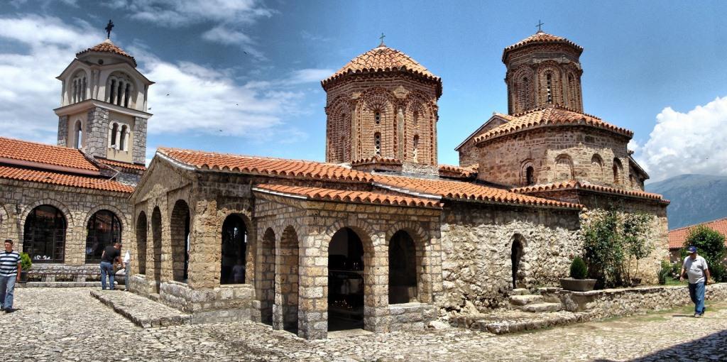 monastery in Sveti Naum, Macedonia