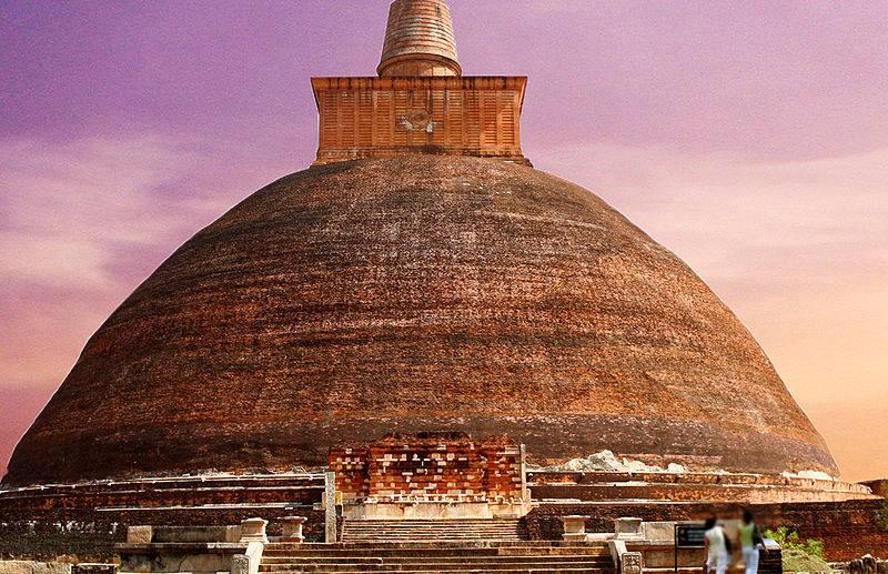 monastery of Jetavana, Sri Lanka