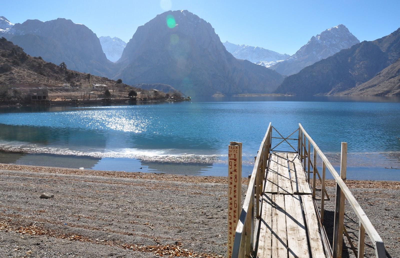 mountain lakes, Tajikistan