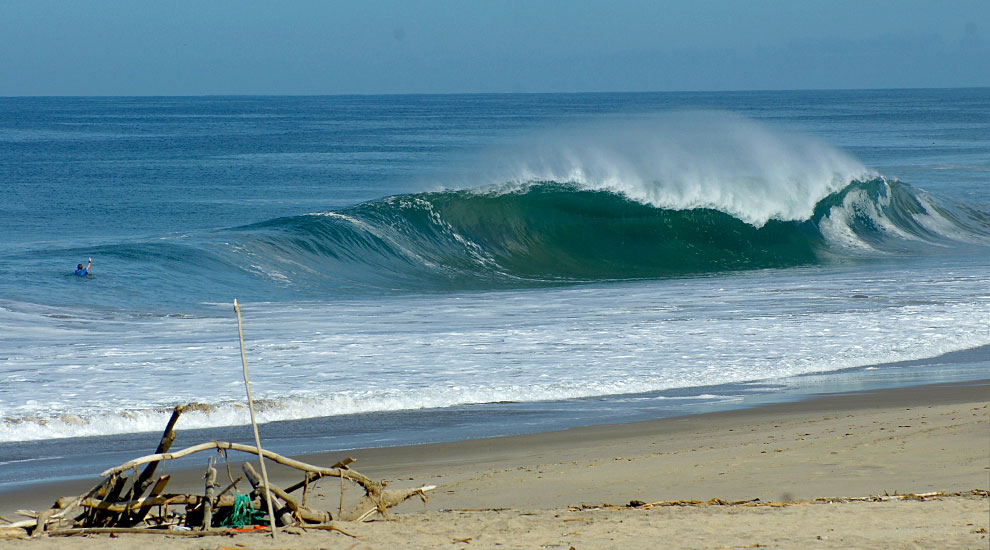 surfing, Ecuador